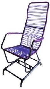 Cadeira de Balanço Serena Cordão Lilás Bel'Star