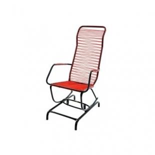 Cadeira de Balanço Serena Cordão Vermelha Bel'Star