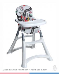 Cadeira  de Papá Alta Premium Fórmula Baby Galzerano