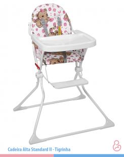 Cadeira de Papá Alta Standard II Tigrinha Galzerano