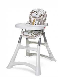 Cadeira de Papá Infantil Alta Premium Panda Galzerano