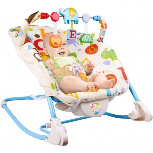 Cadeira De Repouso Musical Letrinhas Baby Style