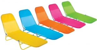 Cadeira espreguiçadeira Textilene Fashion Mor