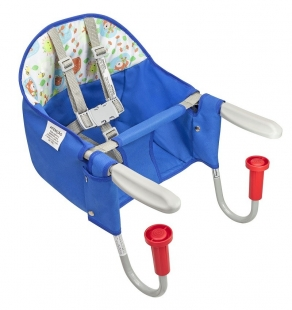 Cadeira Fit Encaixe de Mesa Azul Tutti Baby