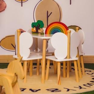 Cadeira Hora de Brincar Branco Acetinado Divicar