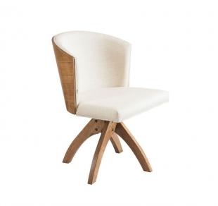 Cadeira Maggy Giratória Madeira Cerentini