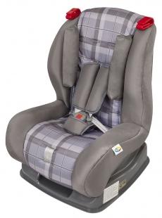Cadeira para Carro Atlantis Xadrez Cinza Tutti Baby