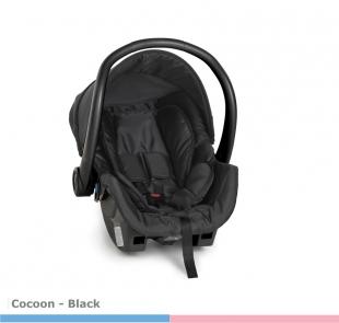 Cadeira para Carro Cocoon Black BL Galzerano