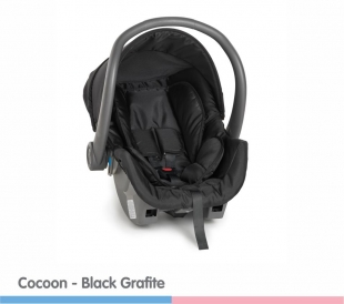 Cadeira para Carro Cocoon Black Grafite Galzerano