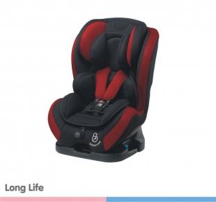 Cadeira para Carro Long Life Preto Vinho PTV Galzerano