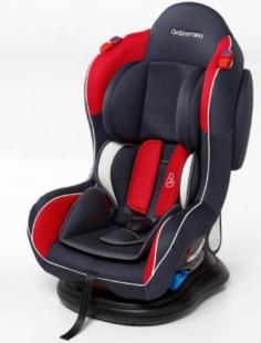 Cadeira para Carro Transbaby Grafite Vermelho Galzerano