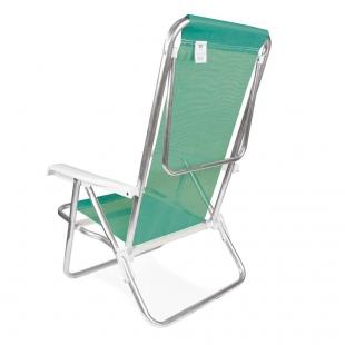 Cadeira Reclinável 8 Posições Alumínio Anis Mor