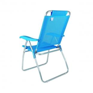 Cadeira Reclinável Boreal Azul Claro Mor