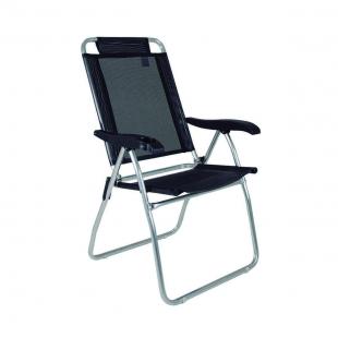 Cadeira Reclinável Boreal Preta Mor