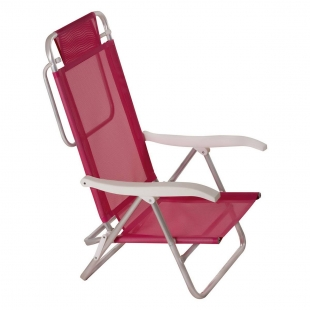 Cadeira Reclinável Summer Pink Mor