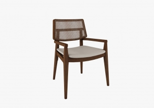 Cadeira Urubici c/ Braço Canela Rudnick