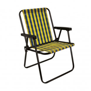 Cadeira Xadrez Mel Mor