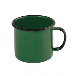 Caneca Esmaltado 370ml Verde Ewel