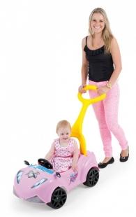 Carrinho Infantil Xtreme com empurrador Rosa Xalingo
