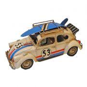 Carro Miniatura Metal Fusca Herby Prancha No Teto Goods