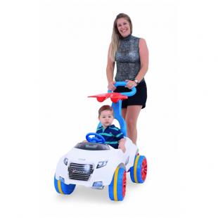Carro Xrover a Pedal Meninos com Empurrador Xalingo