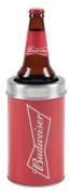 Cervegela Porta Garrafa Alumínio Budweiser Alumiart Falcão