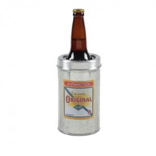 Cervegela Porta Garrafa Alumínio Original Alumiart Falcão