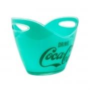 Champanheira em Acrílico Coca Cola Contemporary Verde