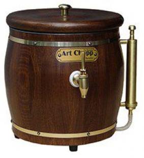 Chopeira Rustica Suporte para 2 garrafas Art Chopp