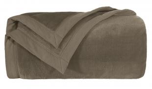 Cobertor Blanket 600 Marrom king Kacyumara