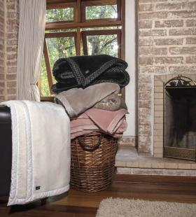 Cobertor Blanket High 700 Rosé King Linha K Kacyumara