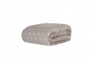 Cobertor/Manta Blanket Vintage Poá Fend Casal Kacyumara