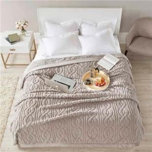 Cobertor Casal 180x220 Cervinia Ornare Taupe Claro Corttex