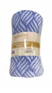 Cobertor Flannel Relevo Sortidos Niazitex