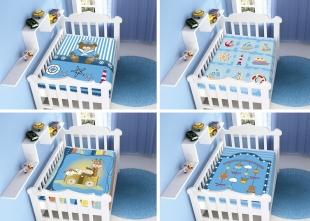 Cobertor Infantil Raschel Plus Sortido Azul Jolitex