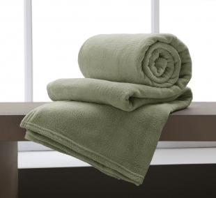Cobertor Microfibra King 220x240cm Verde Corttex