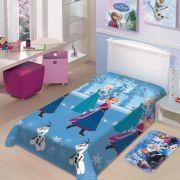 Cobertor Manta Microfibra Solteiro Disney Frozen Neve Jolitex Ternille