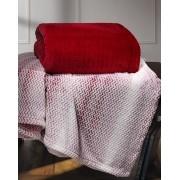 Cobertor Plush Tweed Queen 130x160 Sicilia Laca Hedrons