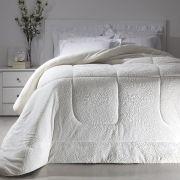 Cobertor Queen Branco Extra Macio Duoblanket Kacyumara
