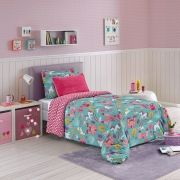 Cobreleito 2pc Solteiro Luma Kids Dream Hedrons