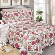 Colcha Evoluition Patchwork King 260x280 Canton Camesa