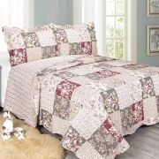 Colcha Evoluition Patchwork King 260x280 Kratos Camesa