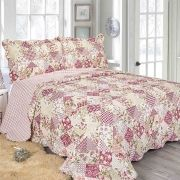 Colcha Evoluition Patchwork King 260x280 Stona Camesa