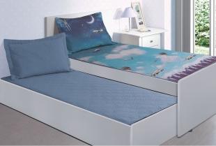 Colcha Solteiro Sleep Innovi Planes Kacyumara
