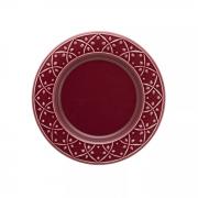Conjunto 6 Pratos Sobremesa 20 cm Relevo Corvina Oxford