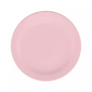 Conjunto 6 Pratos Sobremesa Milenial Rosa Oxford