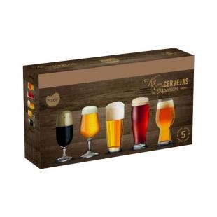 Conjunto Cervejas Especiais 5Pcs Nadir