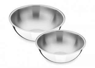 Conjunto de Bowls Inox 2 peças Tramontina