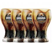 Conjunto de Copos Brahma Black 4Pcs Elos