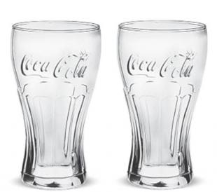 Conjunto de Copos Coca Contour 2 Pcs 473ml Cisper